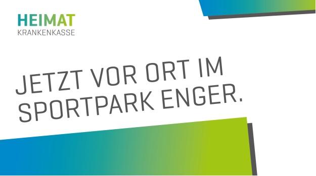 Neueroffnung Servicestelle Der Heimat Krankenkasse Im Sportpark Enger Sportpark Enger